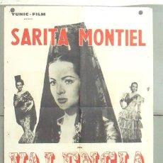 Cine: MC85 EL ULTIMO CUPLE SARA MONTIEL POSTER ORIGINAL FRANCES 60X80. Lote 18295769