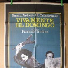Cine: VIVAMENTE EL DOMINGO. Lote 278288538