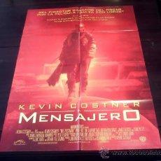 Cine: POSTER ORIGINAL THE POSTMAN EL MENSAJERO DEL FUTURO KEVIN COSTNER WILL PATTON LARENZ TATE RUSSO 1997. Lote 18616123