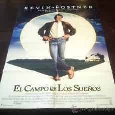 Cine: POSTER ORIGINAL AMERICANO FIELD OF DREAMS EL CAMPO DE LOS SUEÑOS KEVIN COSTNER PHIL ALDEN ROBINSON. Lote 18616506