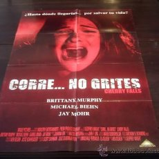 Cine: POSTER ORIGINAL PERUANO CHERRY FALLS CORREO NO GRITES BRITTANY MURPHY MICHAEL BIEHN JAY MOHR 2000. Lote 18789275