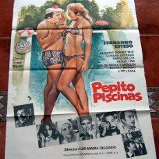 Cartel poster pepito piscinas fernando esteso comprar for Pepito piscina