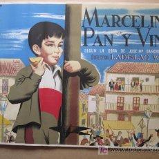 Cine: MARCELINO PAN Y VINO 2 HOJAS 1000X1400. Lote 50262705