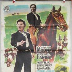 Cine: PUENTE DE COPLAS ANTONIO MOLINA EL PRINCIPE GITANO. Lote 19136477