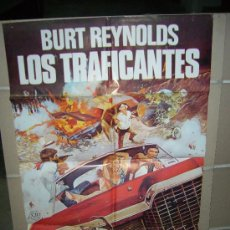 Cine: LOS TRAFICANTES BURT REYNOLDS POSTER ORIGINAL 70X100 Q. Lote 21331489