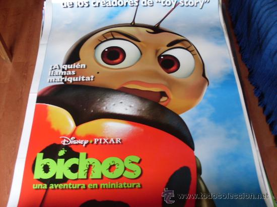 BICHOS - ANIMACION - PIXAR - MOD 1 (Cine - Posters y Carteles - Infantil)