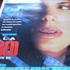 Cine: LA RED (THE NET) - SANDRA BULLOCK, JEREMY NORTHAM, DENNIS MILLER, DIANE BAKER. Lote 25065230