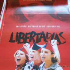 Cine: LIBERTARIAS - ARIADNA GIL, VICTORIA ABRIL, ANA BELÉN, JORGE SANZ, LOLES LEÓN - DIR.VICENTE ARANDA. Lote 23595404