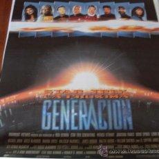 Cine: STAR TREK LA PROXIMA GENERACION - PATRICK STEWART, JONATHAN FRAKES, BRENT SPINER, LEVAR BURTON. Lote 23889256