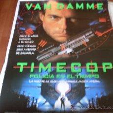Cine: TIMECOP POLICIA EN EL TIEMPO - JEAN-CLAUDE VAN DAMME, MIA SARA, RON SILVER. Lote 24775161
