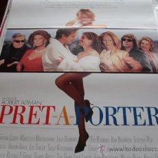 Cine: PRET A PORTER - JULIA ROBERTS, TIM ROBBINS, SOPHIA LOREN, MARCELLO MASTROIANNI, KIM BASINGER. Lote 24934327