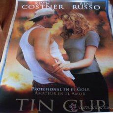 Cine: TIN CUP - KEVIN COSTNER, RENE RUSSO (GOLF). Lote 184564338