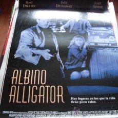 Cine: ALBINO ALLIGATOR - MATT DILLON, GARY SINISE, FAYE DUNAWAY, VIGGO MORTENSEN, JOE MANTEGNA. Lote 26051199