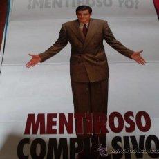 Cine: MENTIROSO COMPULSIVO - JIM CARREY, MAURA TIERNEY, JENNIFER TILLY, CARY ELWES. Lote 24326581