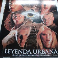 Cine: LEYENDA URBANA - JARED LETO, ALICIA WITT, REBECCA GAYHEART, MICHAEL ROSENBAUM, JOSHUA JACKSON. Lote 26951872