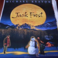 Cine: JACK FROST - MICHAEL KEATON, KELLY PRESTON, MARK ADDY, JOSEPH CROSS, ELI MARIENTHAL. Lote 25881078