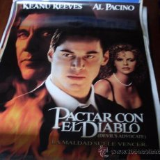 Cine: PACTAR CON EL DIABLO - KEANU REEVES, AL PACINO, CHARLIZE THERON - DIR. TAYLOR HACKFORD. Lote 24612781