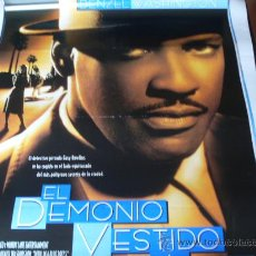Cine: EL DEMONIO VESTIDO DE AZUL - DENZEL WASHINGTON, JENNIFER BEALS, TOM SIZEMORE, DON CHEADLE. Lote 26464909