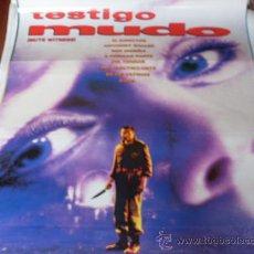 Cine: TESTIGO MUDO - MARINA SUDINA, FAY RIPLEY, EVAN RICHARDS, OLEG YANKOVSKIY. Lote 26464916