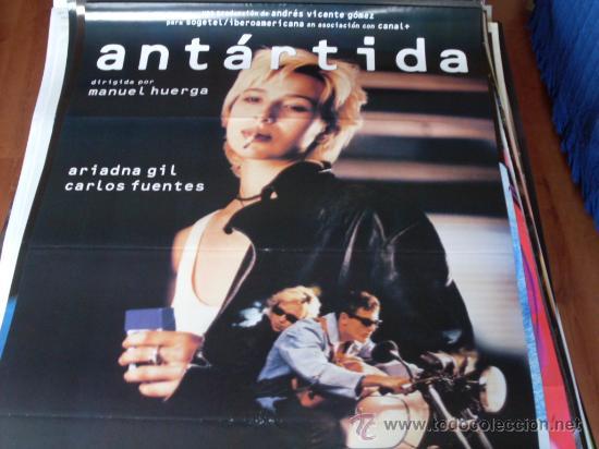 ANTARTIDA - ARIADNA GIL, CARLOS FUENTES, JOHN CALE - DIR. MANUEL HUERGA (Cine - Posters y Carteles - Clasico Español)