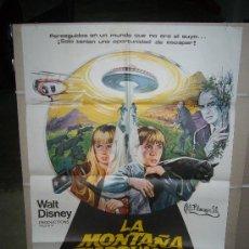 Cine: LA MONTAÑA EMBRUJADA RAY MILLAND WALT DISNEY POSTER ORIGINAL 70X100 . Lote 26230137