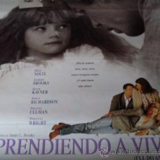 Cine: APRENDIENDO A VIVIR - NICK NOLTE, WHITTNI WRIGHT, ALBERT BROOKS, JULIE KAVNER, JOELY RICHARDSON. Lote 26281814