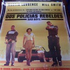 Cine: 2 POLICIAS REBELDES (BAD BOYS) - MARTIN LAWRENCE, WILL SMITH, TÉA LEONI, TCHEKY KARYO, JOE PANTOLIAN. Lote 25977410