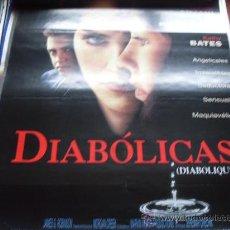 Cine: DIABOLICAS - SHARON STONE, ISABELLE ADJANI, CHAZZ PALMINTERI, KATHY BATES. Lote 25881101