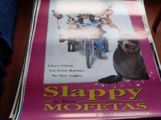 SLAPPY Y LOS MOFETAS - BD WONG, BRONSON PINCHOT, SAM MCMURRAY, JENNIFER COOLIDGE, JOSEPH ASHTON (Cine - Posters y Carteles - Infantil)