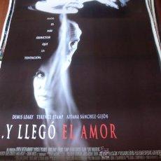 Cine: Y LLEGO EL AMOR - DENIS LEARY, TERENCE STAMP, AITANA SÁNCHEZ-GIJÓN - DIR.JUAN JOSÉ CAMPANELLA. Lote 26281822