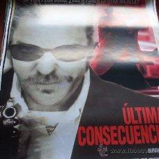 Cine: ULTIMAS CONSECUENCIAS - KIEFER SUTHERLAND, VINCENT GALLO, KEVIN POLLAK, MARTIN SHEEN. Lote 25043328