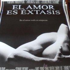 Cine: EL AMOR ES EXTASIS - SHERYL LEE, TERENCE STAMP, CRAIG SHEFFER. Lote 31002647