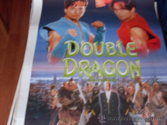 Double Dragon Mark Dacascos Scott Wolf Robe Buy Action Film Posters At Todocoleccion 26281823