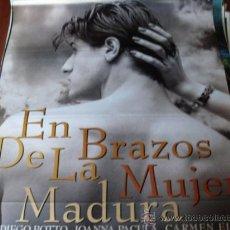 Cine: EN BRAZOS DE LA MUJER MADURA - JUAN DIEGO BOTTO, FAYE DUNAWAY, JOANNA PACULA, CARMEN ELÍAS. Lote 25065249