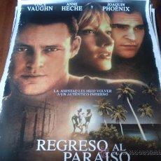 Cine: REGRESO AL PARAISO - VINCE VAUGHN, ANNE HECHE, JOAQUIN PHOENIX. Lote 26480094