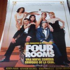 Cine: FOUR ROOMS - ANTONIO BANDERAS, VALERIA GOLINO, TIM ROTH, MADONNA, JENNIFER BEALS, BRUCE WILLIS. Lote 24612784