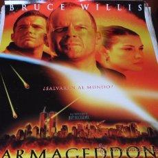 Cine: ARMAGEDDON - BRUCE WILLIS, BEN AFFLECK, LIV TYLER, BILLY BOB THORNTON, STEVE BUSCEMI. Lote 29197007