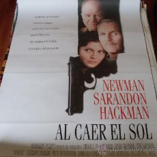 Cine: AL CAER EL SOL - PAUL NEWMAN, SUSAN SARANDON, GENE HACKMAN, JAMES GARNER. Lote 24292780