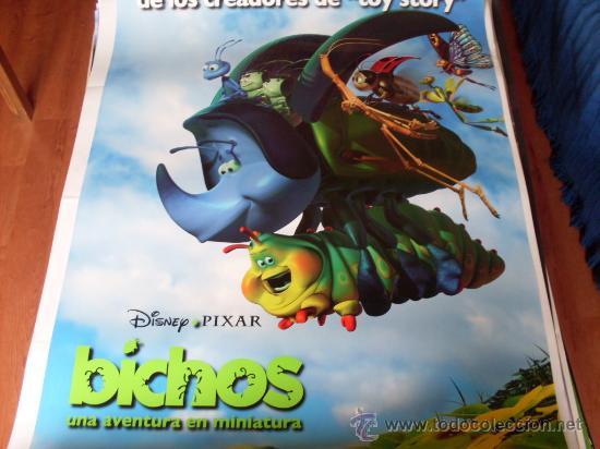BICHOS - ANIMACION - PIXAR - MODELO 3 (Cine - Posters y Carteles - Infantil)