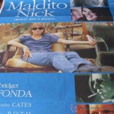 Cine: MALDITO NICK - ERIC STOLTZ, BRIDGET FONDA, PHOEBE CATES, WARREN BURTON. Lote 25990981