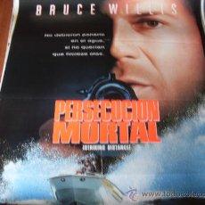 Cine: PERSECUCION MORTAL - BRUCE WILLIS, SARAH JESSICA PARKER, DENNIS FARINA, TOM SIZEMORE. Lote 25912650