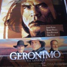 Cine: GERONIMO UNA LEYENDA - GENE HACKMAN, ROBERT DUVALL, JASON PATRIC, WES STUDI, MATT DAMON. Lote 27234411