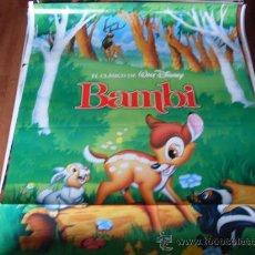 Cine: BAMBI - ANIMACION - WALT DISNEY. Lote 24862652