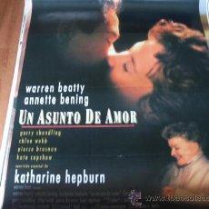 Cine: UN ASUNTO DE AMOR - WARREN BEATTY, ANNETTE BENING, KATHARINE HEPBURN, PIERCE BROSNAN. Lote 129306099