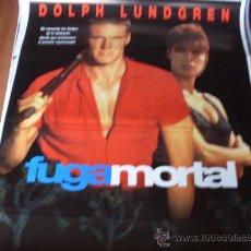 Cine: FUGA MORTAL - DOLPH LUNDGREN, GEORGE SEGAL, KRISTIAN ALFONSO, GEOFFREY LEWIS. Lote 26480169