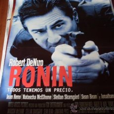 Cine: RONIN - ROBERT DE NIRO, JEAN RENO, NATASCHA MCELHONE, STELLAN SKARSGÅRD. Lote 26480187