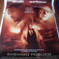 Cine: ENEMIGO PUBLICO - WILL SMITH, GENE HACKMAN, JON VOIGHT, LISA BONET, JASON LEE, IAN HART. Lote 26480194