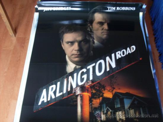 ARLINGTON ROAD - JEFF BRIDGES, TIM ROBBINS, JOAN CUSACK (Cine - Posters y Carteles - Suspense)