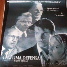 Cine: LEGITIMA DEFENSA - MATT DAMON, DANNY DEVITO, CLAIRE DANES, JON VOIGHT - F. F. COPPOLA. Lote 24427355