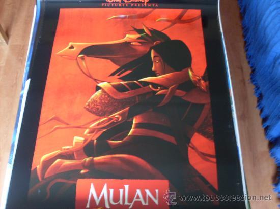 MULAN - ANIMACION - WALT DISNEY - MODELO 2 (Cine - Posters y Carteles - Infantil)